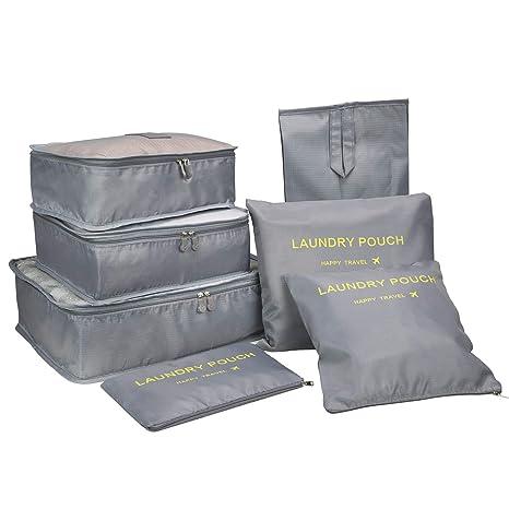 Amazon.com: Cubos de embalaje, organizador de equipaje de ...