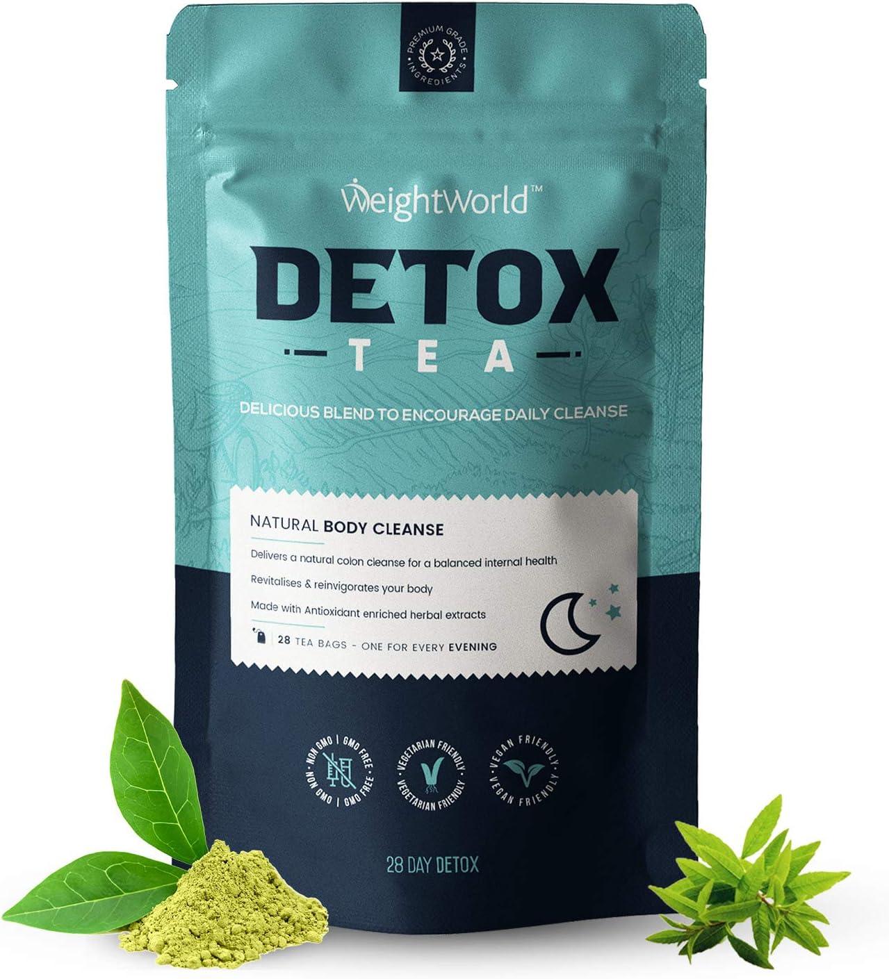 Té detox rico en vitaminas y minerales