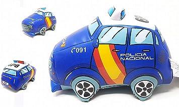 CNP Figura ANTIESTRES Coche POLICIA Nacional ESPAÑA 091: Amazon.es: Juguetes y juegos
