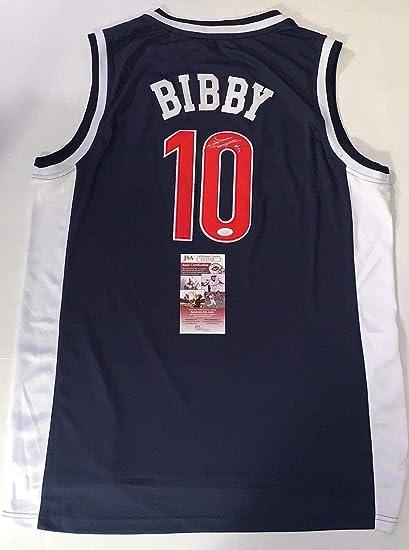 9e92726e3 Mike Bibby Signed Jersey - Arizona Wildcats - JSA Certified - Autographed  NBA Jerseys