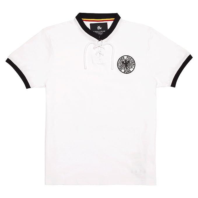 Coolligan - Camiseta de Fútbol Retro 1954 Germany - Color - Blanco - Talla - 3XL: Amazon.es: Ropa y accesorios