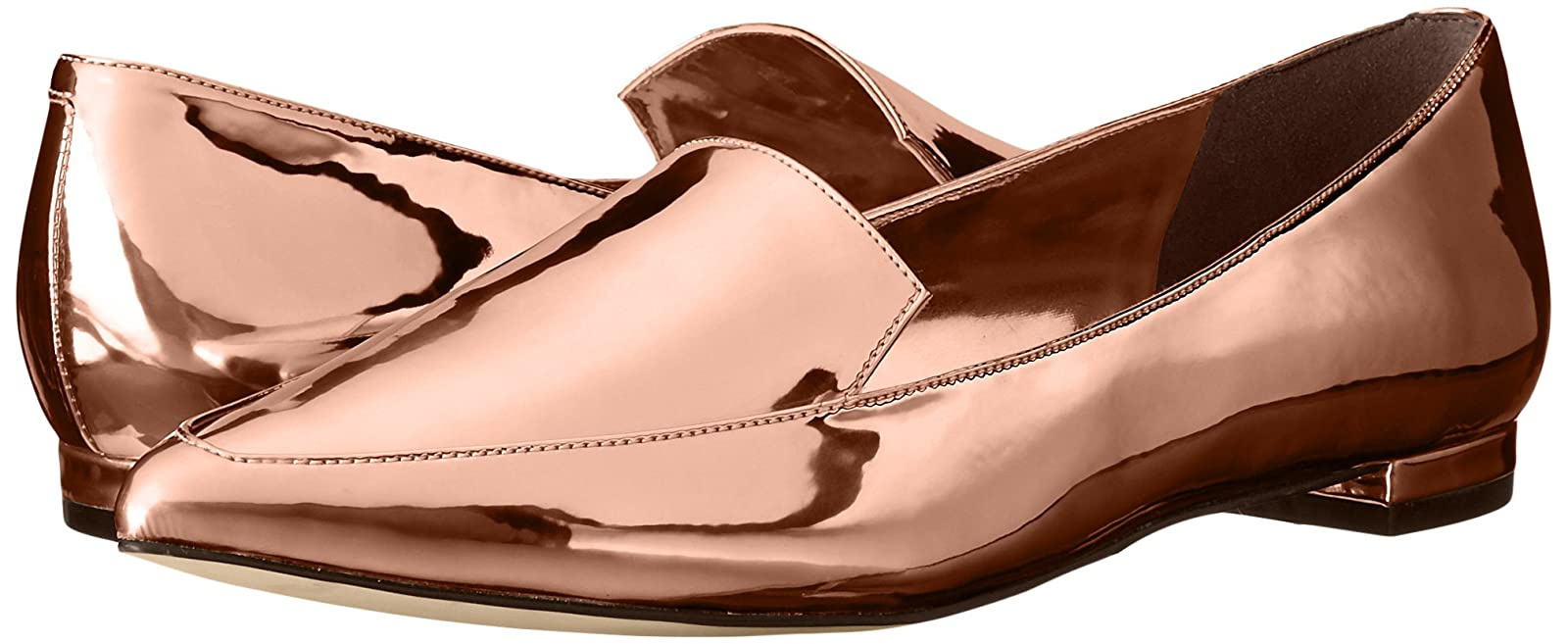 Nine West Women's Abay Patent Pointed Toe Flat US - 6
