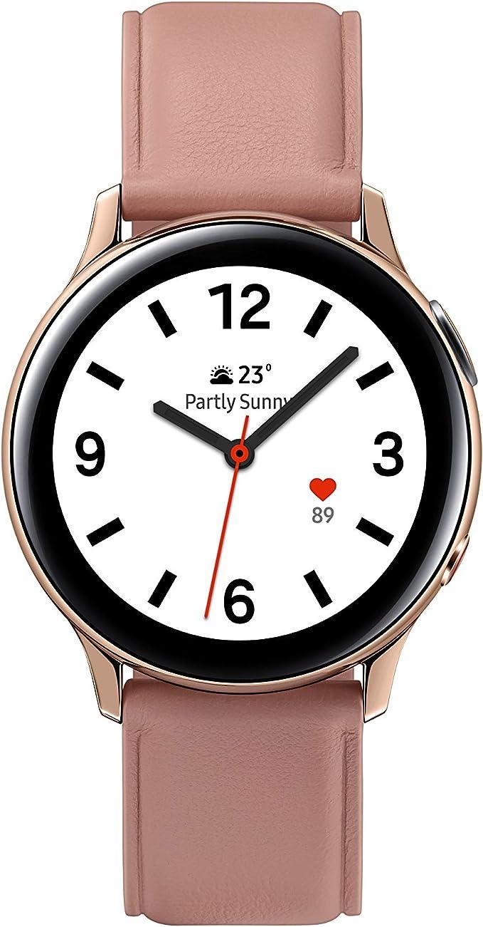 Samsung Galaxy Watch Active 2 - Smartwatch de Acero, 44mm, color ...