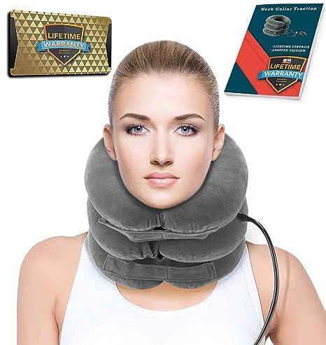 Inflable cuello cervical tracción dispositivo Collar Cervical ...