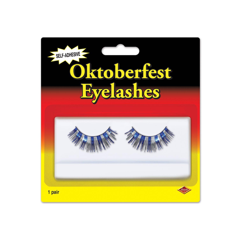 Beistle 60316-BS Oktoberfest Eyelashes