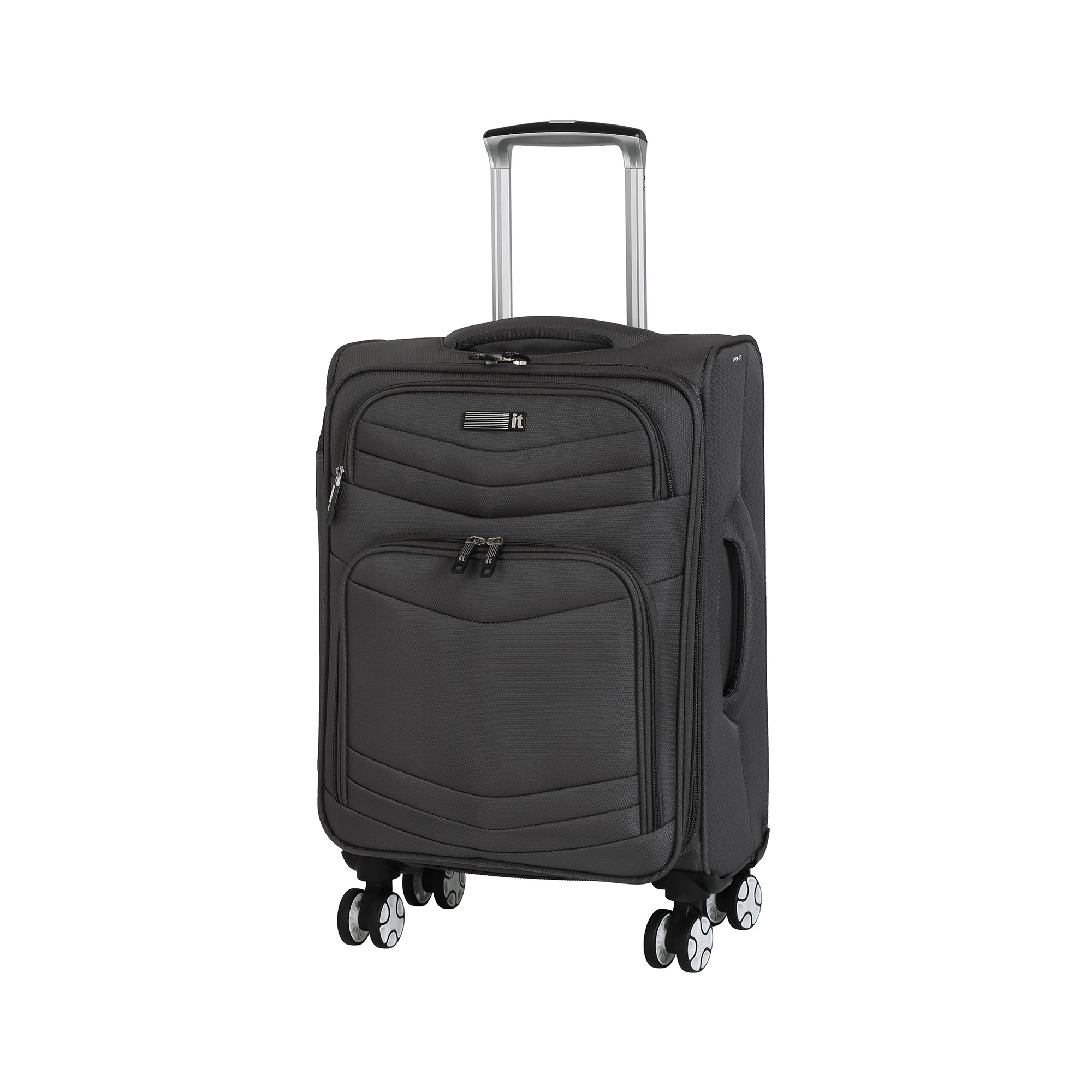 it luggage Intrepid 22'' 8 Wheel Spinner, Dark Gull Grey