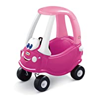 Little Tikes Cozy Coupe - Magenta, Magenta with Light Pink Roof