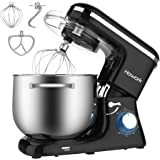 HOWORK Stand Mixer, 8.45 QT Bowl 660W Food Mixer, Multi Functional Kitchen Electric Mixer With Dough Hook, Whisk, Beater, Egg