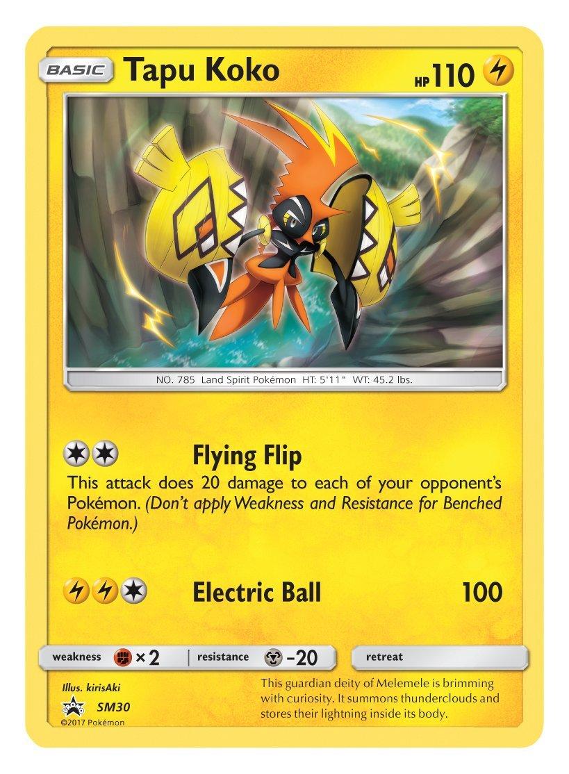 Caja Pokémon Tapu Koko