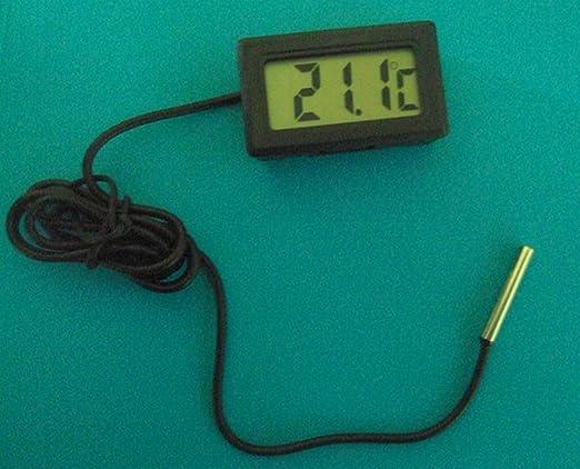Compra fitTek LCD Digital Termómetro para Refrigerador Frigorífico en Amazon.es
