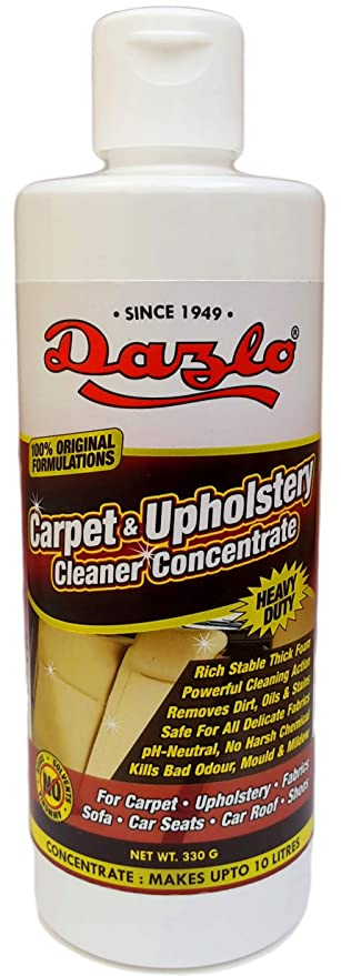 Dazlo Carpet Upholstery Cleaner Concentrate 330g Amazon In Car
