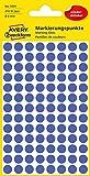 Avery 3591 Circle Blue 416pc(s) self-adhesive label - self-adhesive labels (Blue, Circle, Paper, 8 mm, 416 pc(s), 104 pc(s))