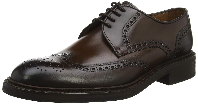 TALLA 38 EU. Lottusse L6724, Zapatos de Cordones Brogue para Hombre
