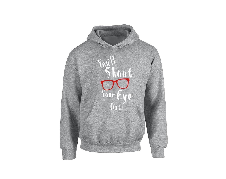 H/&T Shirt Hoodies for Women Men Ugly Christmas Shirts Youll Shoot Your Eye Out Sweats