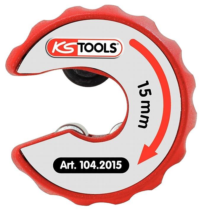 KS Tools 104.2015 Kupferrohr Ratschen-Rohrabschneider 15mm