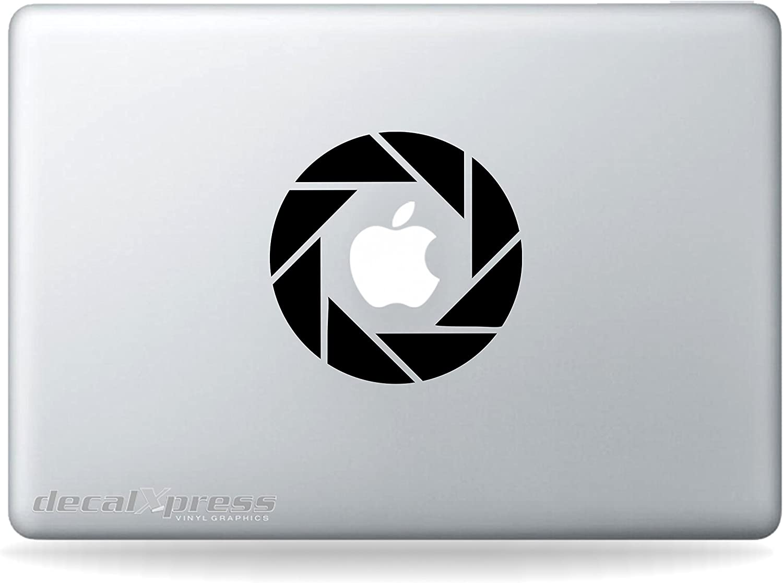 Game Aperture Sticker Decal MacBook, Air, Pro All Models