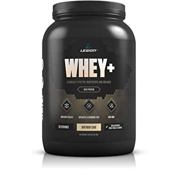 Legion Whey Isolate Protein Powder From Grass Fed Cows