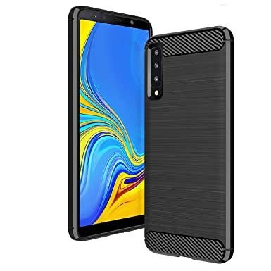 check out d8f30 c9594 AIFIVE Samsung Galaxy A7 2018 Case, Shock Absorption Cover Soft TPU ...