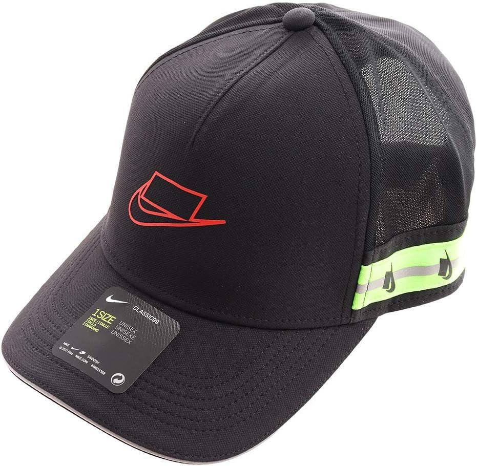 Nike U Nk Clc99 Cap Wild Run Trkr Gorra, Unisex Adulto, Black ...