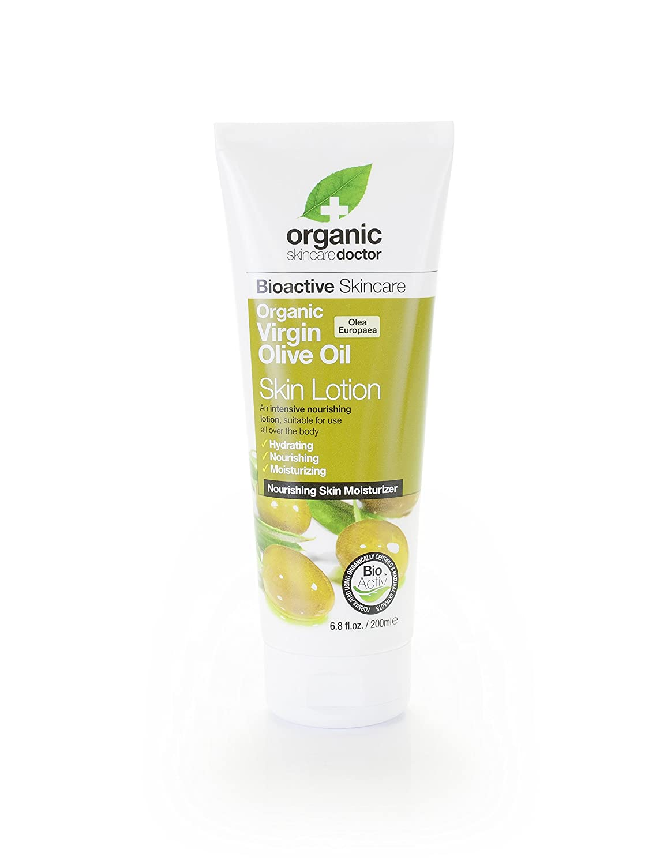 Organic Doctor Virgin Olive Oil, Skin Lotion, 6.8 Fluid Ounce