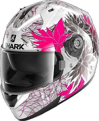 Shark Herren Nc Motorrad Helm Schwarz Rosa Xs Auto