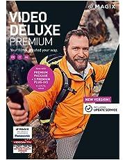 MAGIX Vidéo deluxe 2019 Premium – Création de films personnalisés | Standard | PC | Code d'activation PC - envoi par email