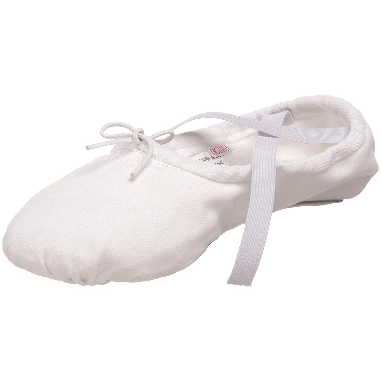 9 8 W US Women/'s//6 W US Men/'s Pro 1C 8 W US Womens//6 W US Mens Sansha Pro 1 Canvas Ballet Slipper,White,9