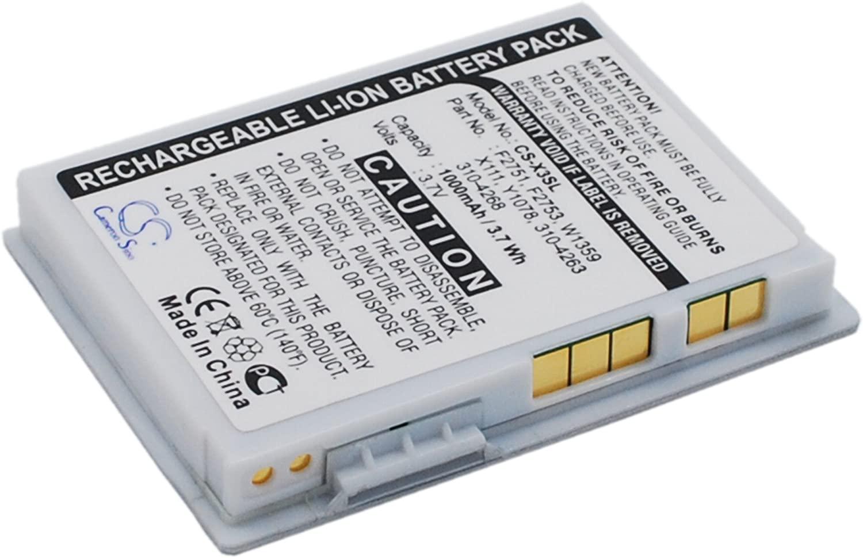 Battery for DELL Axim X3 X30 X3i X1111 3.7V 1000mAh
