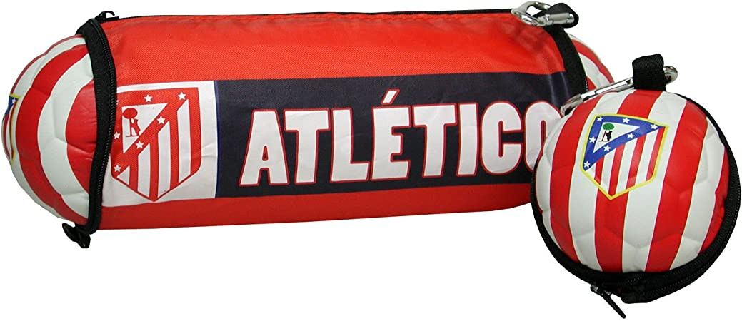Estuches Multicolor ATLETICO DE MADRID: Amazon.es: Oficina y papelería