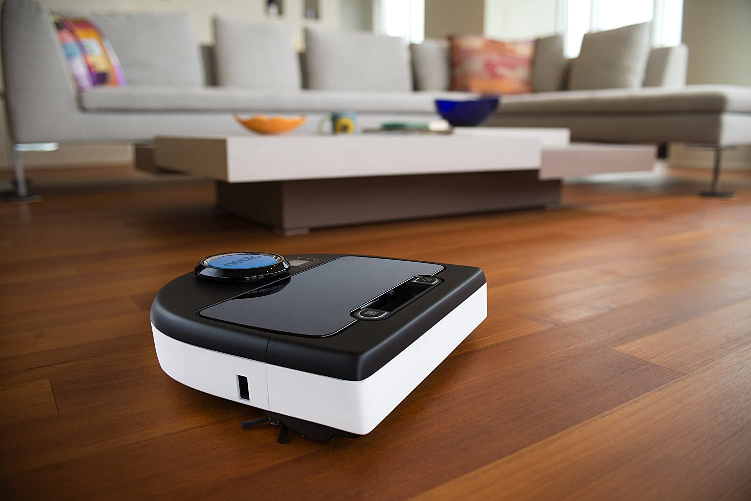 The Neato Botvac D80 Robot Vacuum is different from all other robot vacuums  in so many ways. This robovac's signature D shape implies that it can  easily ... - Top 3 Best Robot Vacuum For Hardwood Floor 2017 Reviews