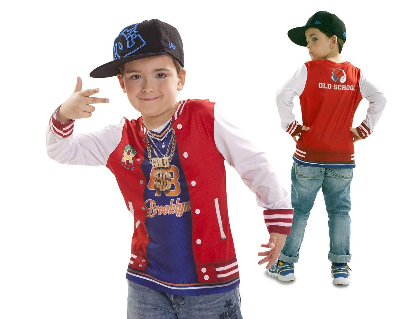 Disfraz Camiseta de Rapero Original de Carnaval para niño de 2-4 ...