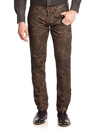93593b04c7a27 Polo Ralph Lauren Men's Sullivan Slim Fit Coated Camo Jeans (33W x 30L, Camo
