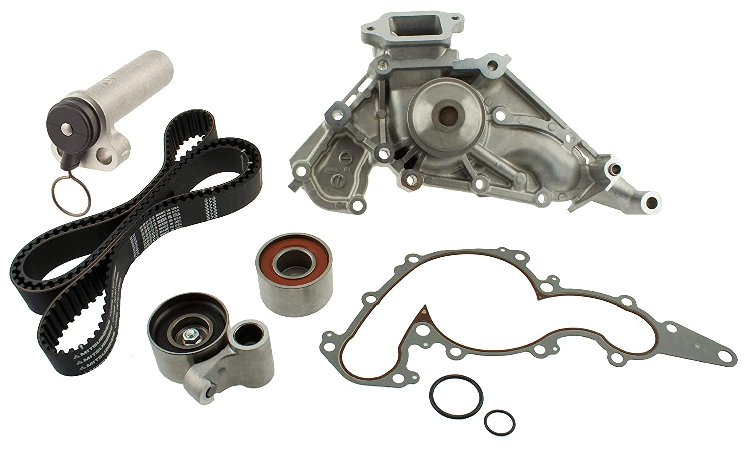 Renewed Aisin TKT-021 Engine Timing Belt Kit with Water Pump Belts ...