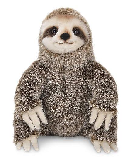 Amazon Com Bearington Simon Plush Three Toed Sloth Stuffed Animal