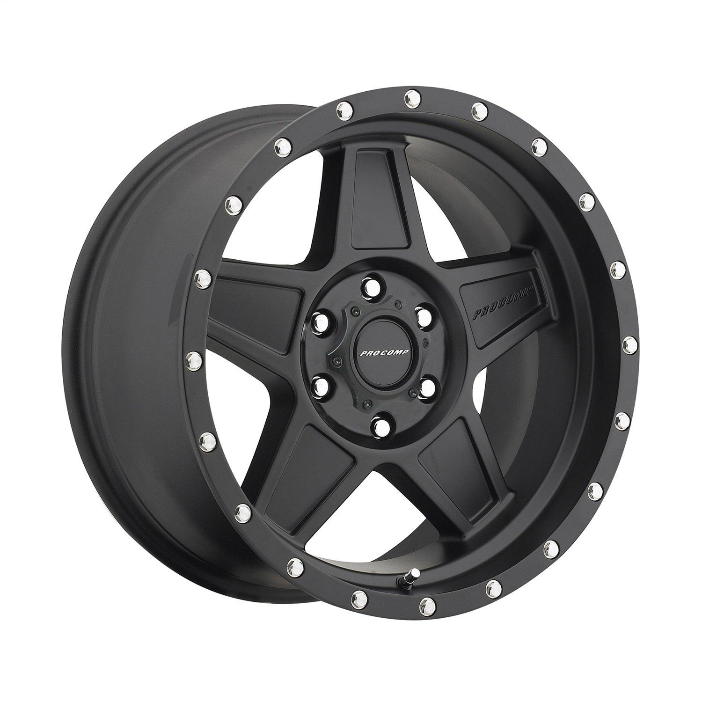 Pro Comp Alloys Series 35 Predator Wheel with Satin Black Finish (18x9''/6x135mm)