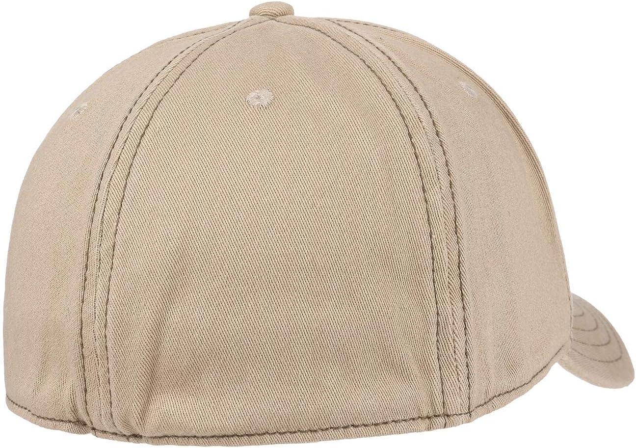 Fullcap Baseballcap Stretchcap mit Schirm Stetson Amherst Flex Basecap Damen//Herren Hinten geschlossen Fr/ühling-Sommer Herbst-Winter