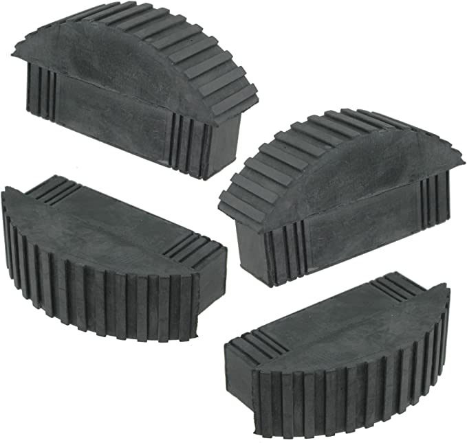 Spares2go Universal pies de goma para caja sección Step & extensión escaleras de mano (Pack de 4): Amazon.es: Bricolaje y herramientas