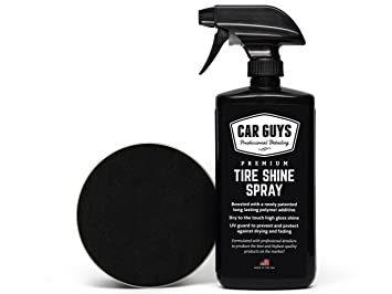 Amazon Com Tire Shine Spray Best Tire Dressing Car Care Kit For