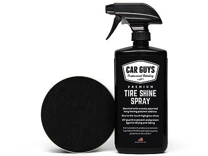 Amazon Com Tire Shine Spray Best Tire Dressing Car Care Kit For