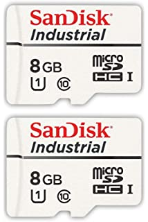 Bulk 5 Pack 1 SDSDQAF3-016G-I Everything But Stromboli Card Reader Bundle with SanDisk Industrial 16GB Micro SD Memory Card Class 10 UHS-I MicroSDHC in Cases