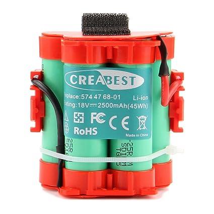 2500mAh-Akku Battery Li-Ion für Flymo Robotic Lawnmower 1200R 574 47 68-01