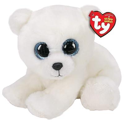"Ty Beanie Babies ARI - Polar Bear 6"": Toys & Games"