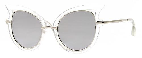 Cheapass Occhiali da Sole Occhio di Gatto Premium Qualità Vintage Specchiati Varietà per le Donne