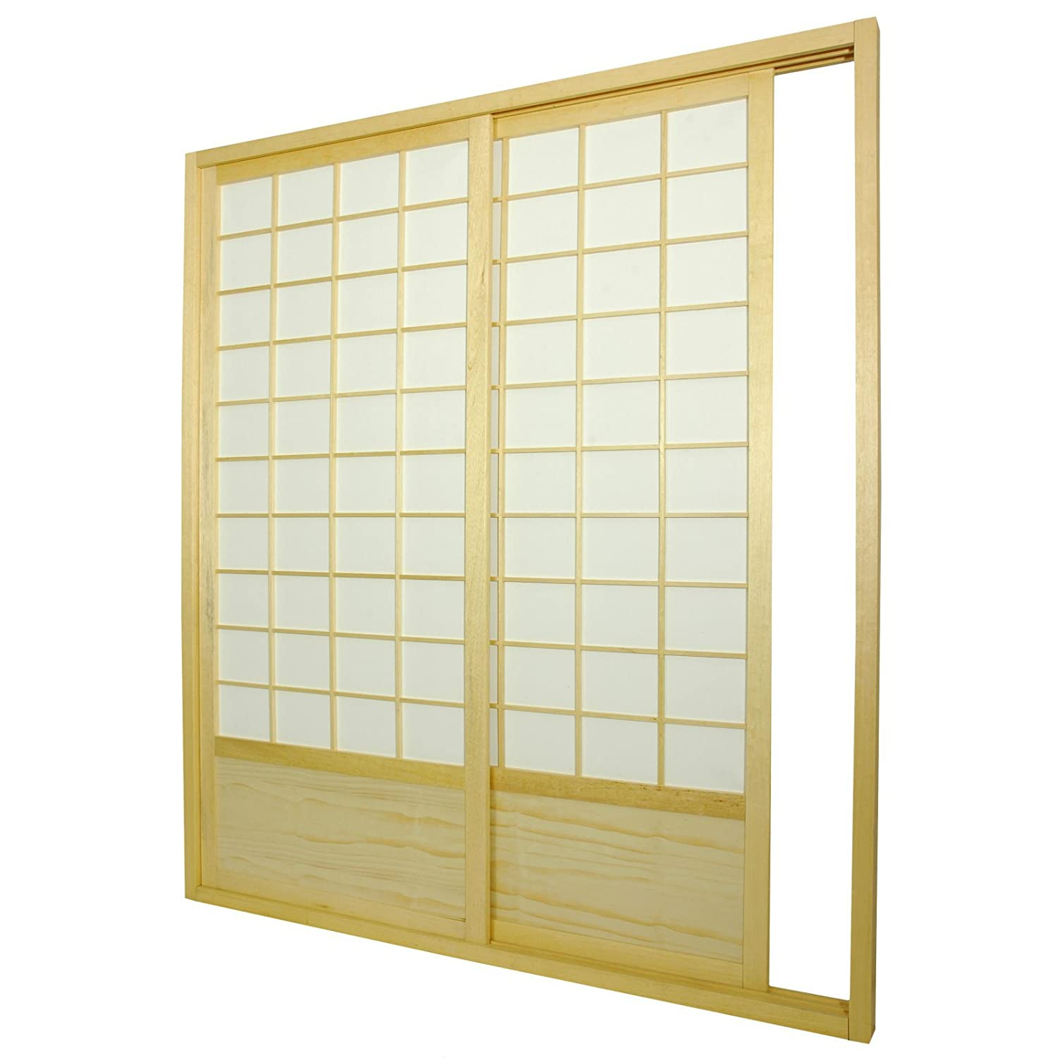 Amazon.com: Oriental Furniture 7 Ft. Zen Shoji Sliding Door Kit: Kitchen U0026  Dining