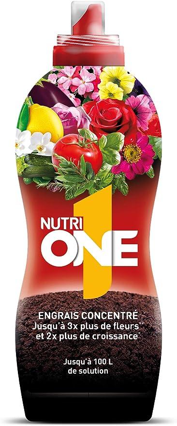 Nutrione Abono líquido Concentrado Plantas y Flores. Fertilizante ...