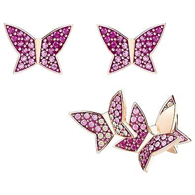 3a4ea2c22 Amazon.com: Swarovski Lilia Pierced Earrings 5378694: Jewelry