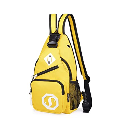 FANDARE Mode Sling Bag Crossbody Bag Bolsas Gimnasio Mochila Ciclismo Excursionismo Bolso Senderismo Deportes Hiking Bag Gym Bolso Bandolera Mochila ...