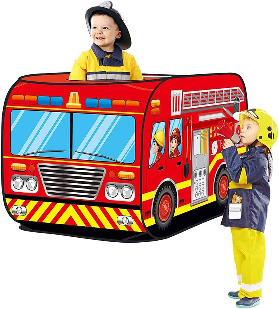 /Ø 72 x 112 cm blau K9CK Spielzelt Polizei Kinderspielzelt Zelt Rollenspielen f/ür Kinderzimmer