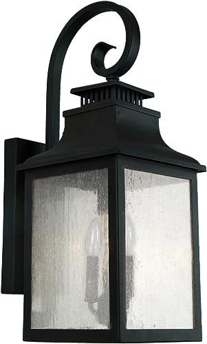 AA Warehousing EL2283IB Morgan 2 Exterior Lighting, Imperial Black