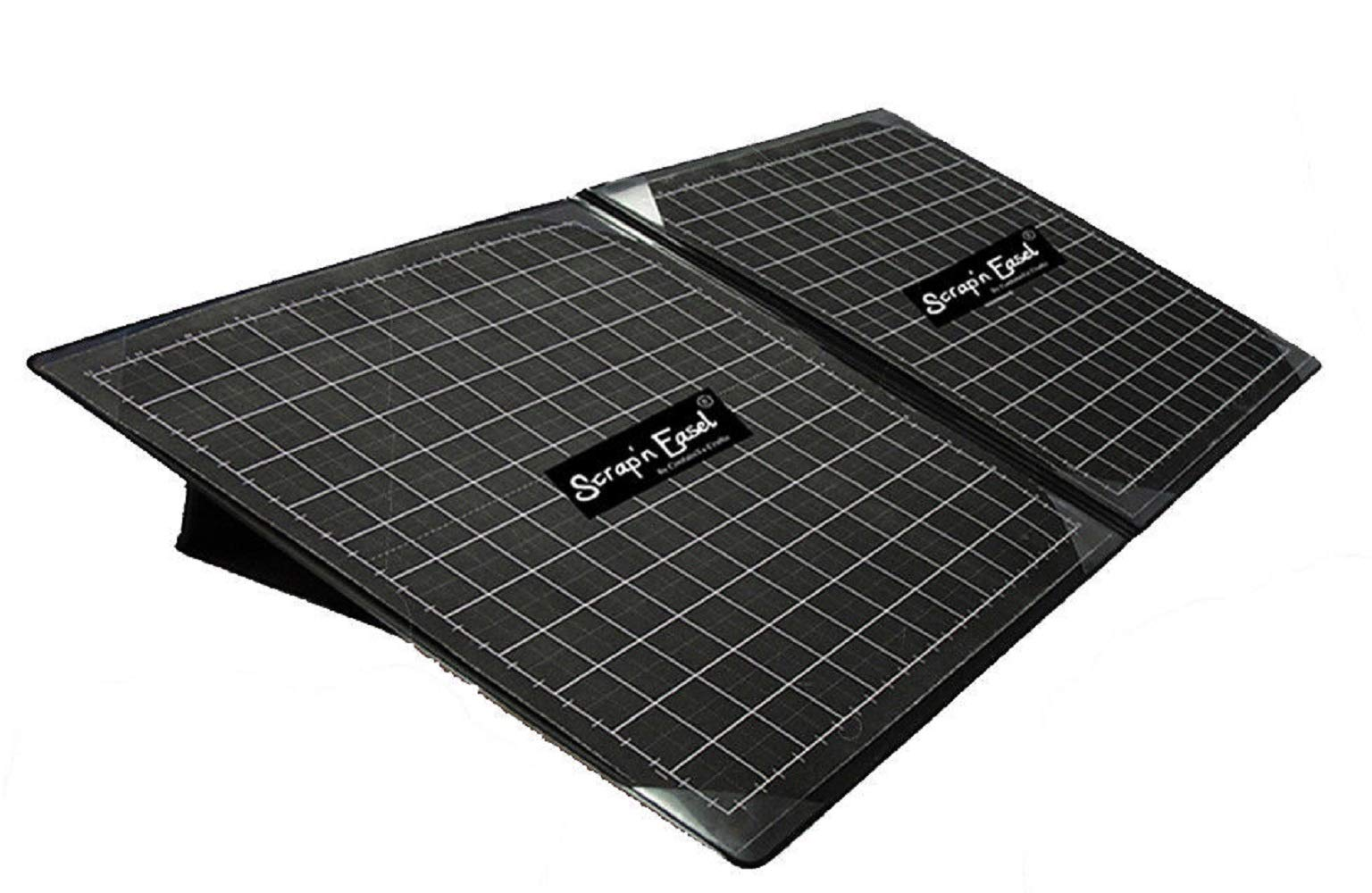 Scrap 'n Easel Magnetic Portable Double Grid Layout Scrapbook Style Ergonomic Work Surface by ContainYaCrafts